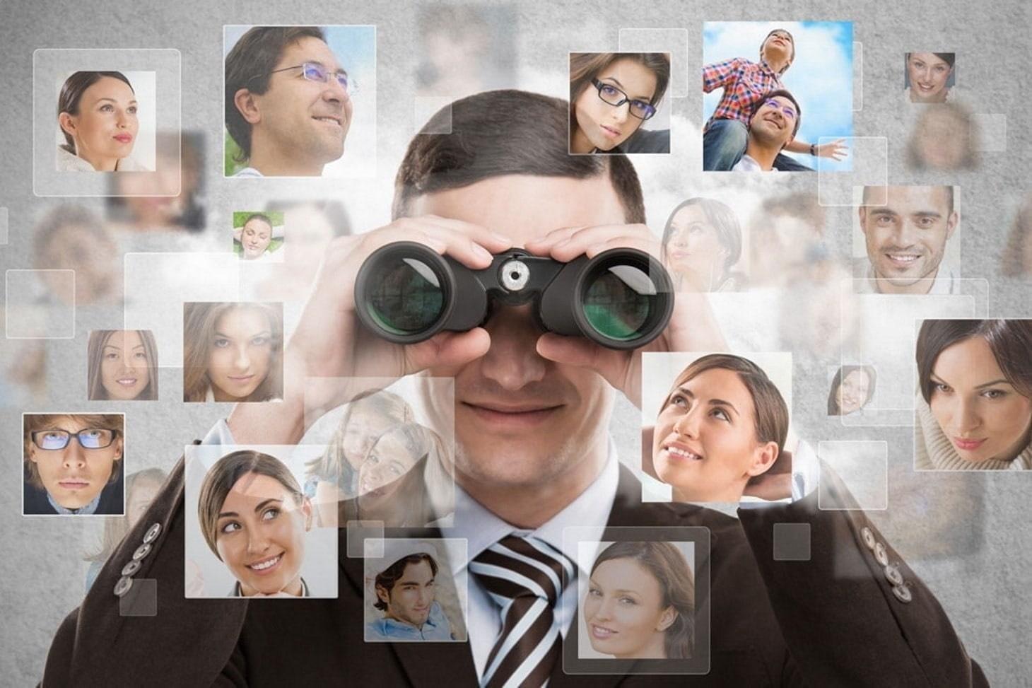 Rechercher des contacts en entreprise